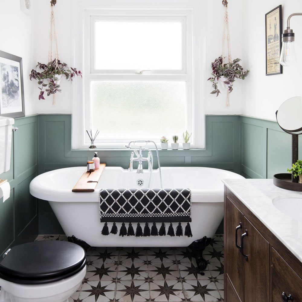 bathroom colour schemes to upgrade your bathing space and